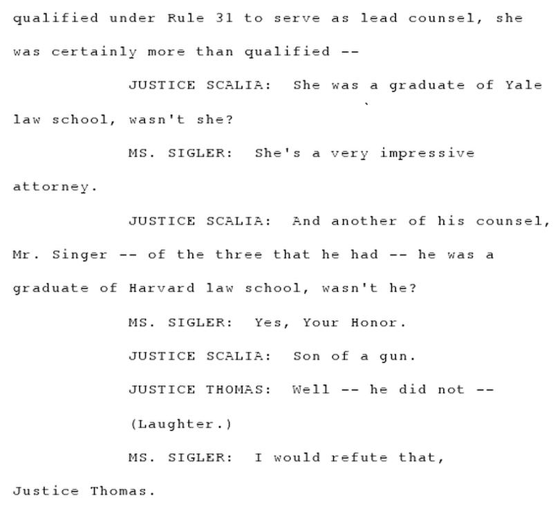 Thomas transcript